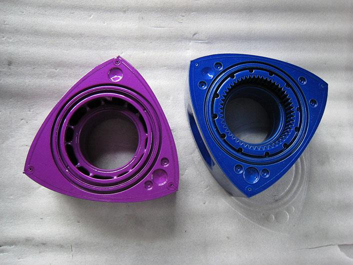 RX7 ロータリーエンジン塗装
